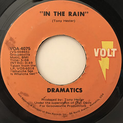 DRAMATISC:IN THE RAIN(LABEL SIDE-A)