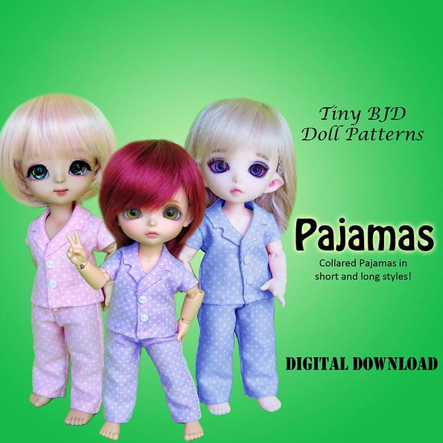 Tiny BJD Pajamas