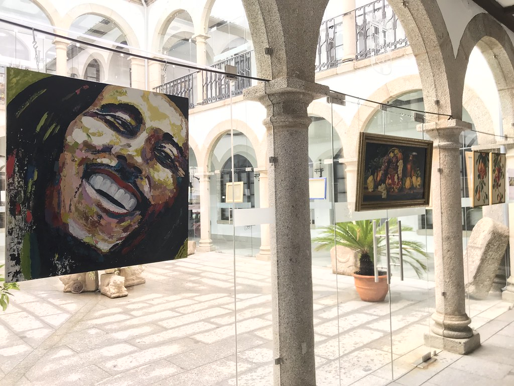 Exposición de trabajos realizados por los alumnos del Curso de Pintura y Técnicas Pictóricas del CEPA