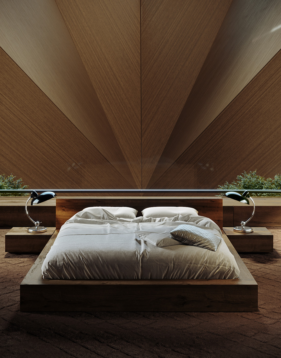 Wood Accent Wall Bedroom Ideas
