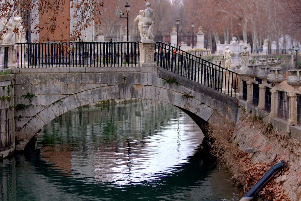 1 de febrero de 2018, invierno en los jardines de Aranjuez