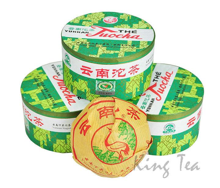 2007 XiaGuan XiaoFa Tuo 100g *5=500g Puerh Shou Cha Ripe Tea