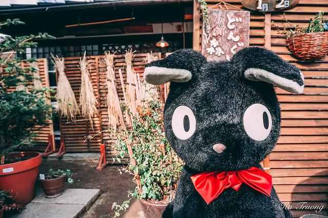 Totoro shop in Yufuin 湯布院 Japan