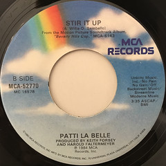 PATTI LA BELLE AND MICHAEL MCDONALD:ON MY OWN(LABEL SIDE-B)