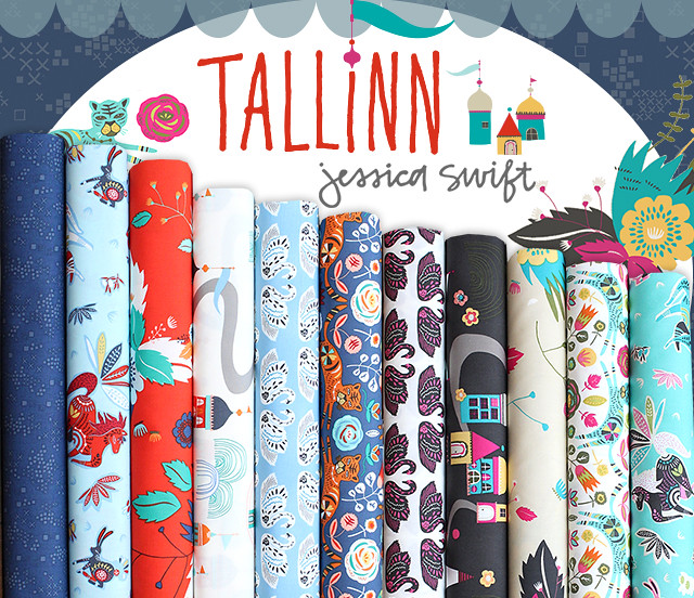 Art Gallery Fabrics Tallinn Collection by Jessica Swift