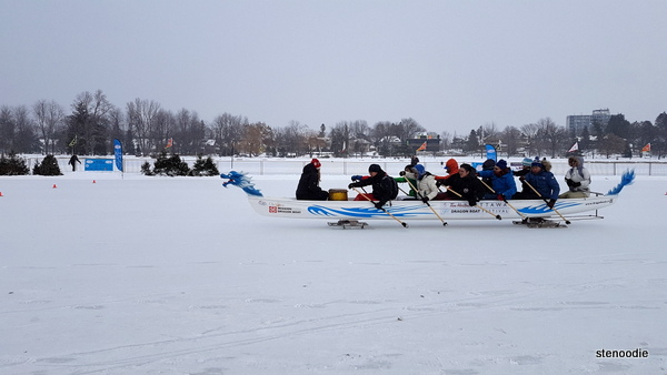 Ice Dragon Boat