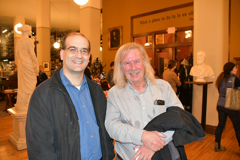 Chris Rowland and Denny Gibson, Mercantile Library, Cincinnati, OH