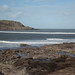 SWCP: To Stepper Point - breakers across the bay