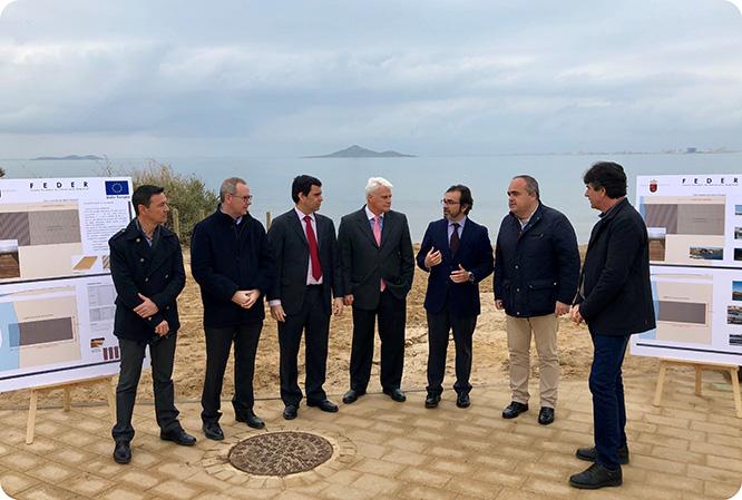Cartagena eliminará los fondeos irregulares en el Mar Menor