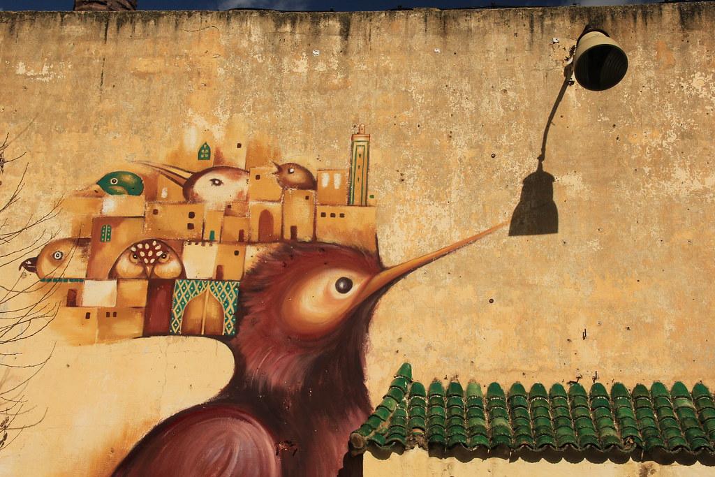 Street art, Fes