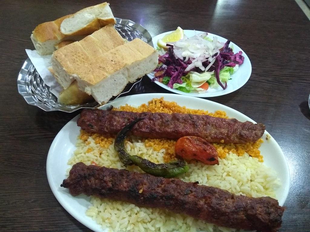 Adana Kebab at Mazi