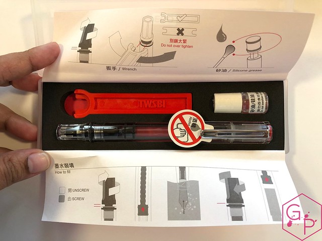 Review @TWSBI Eco Clear Fountain Pen - 1.1 mm stub @GouletPens @BrianGoulet_ 7
