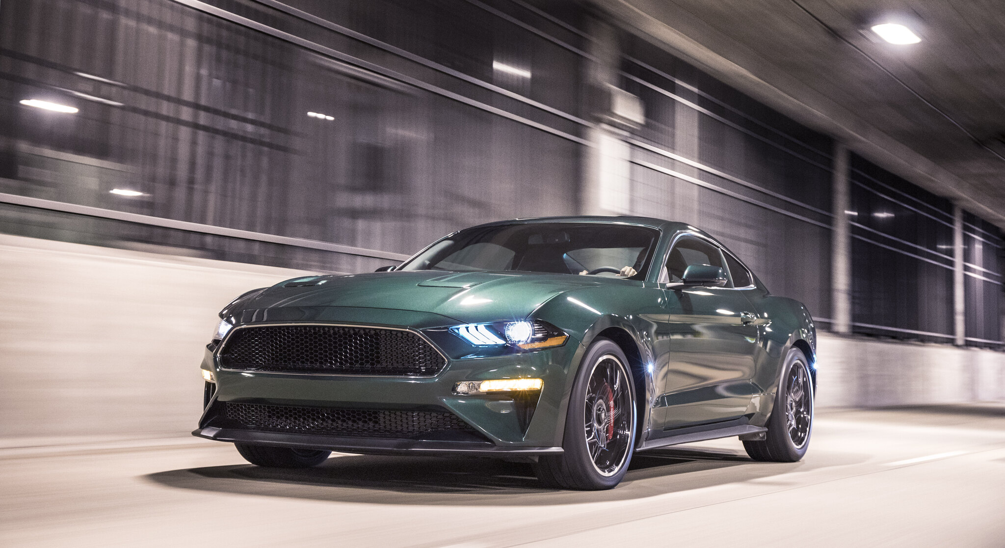 50th anniversary Mustang Bullitt revives silver screen legend with new levels of power