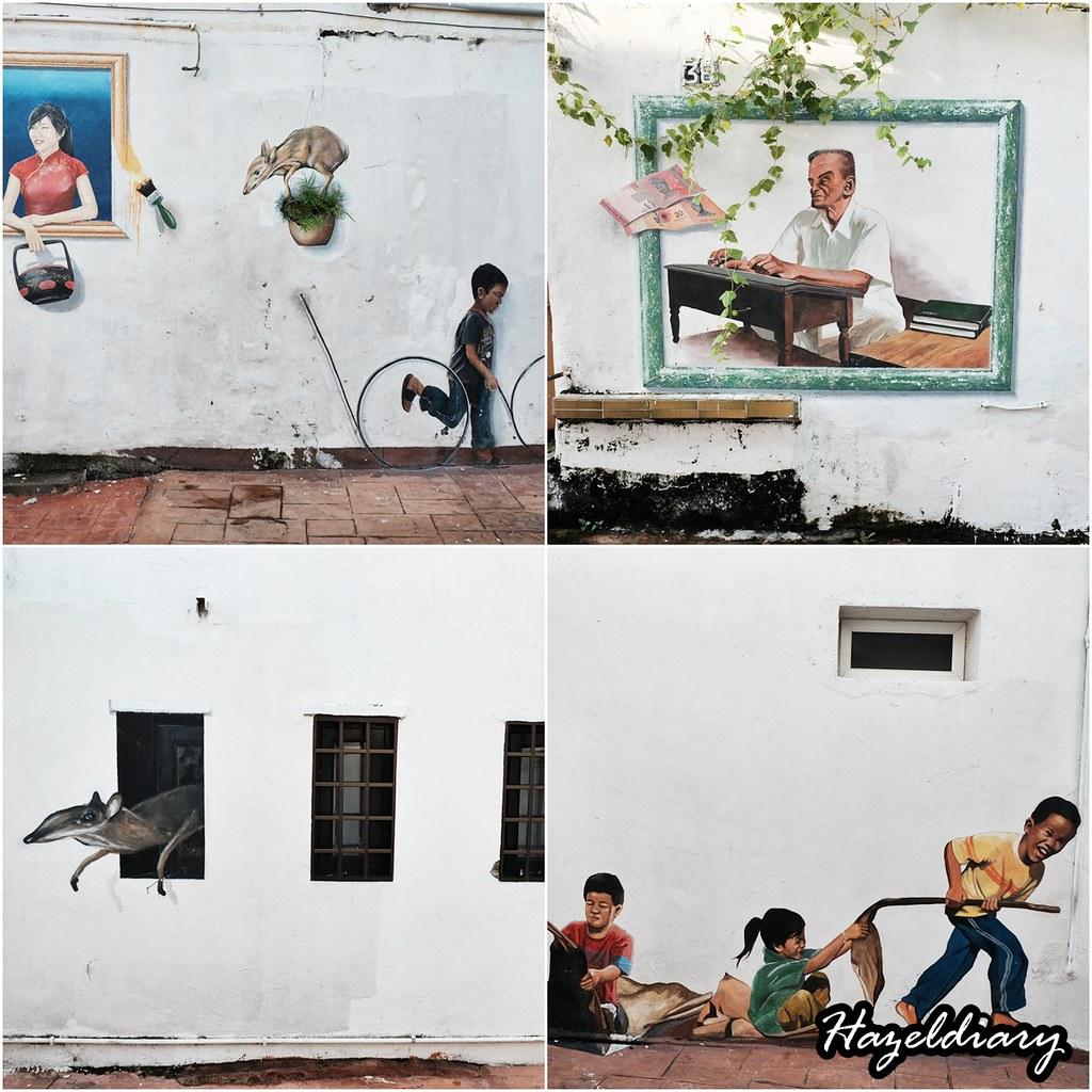 Melaka Mural Art