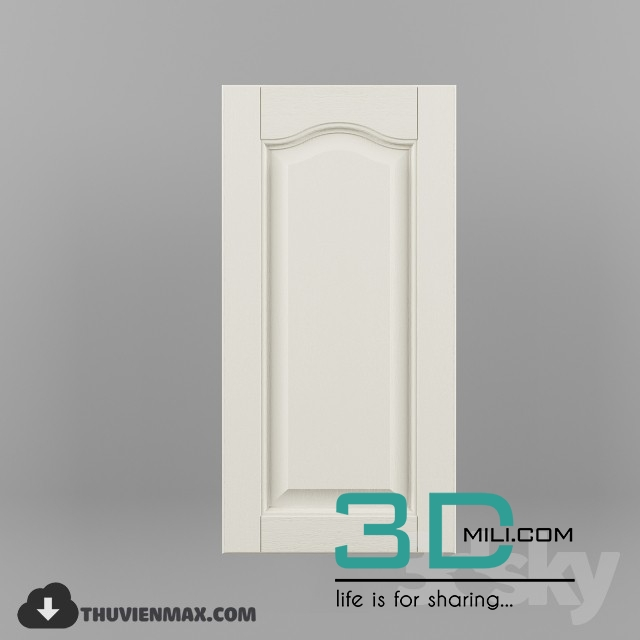 08  Kitchen Cabinet 3D model - 3D Mili - Download 3D Model