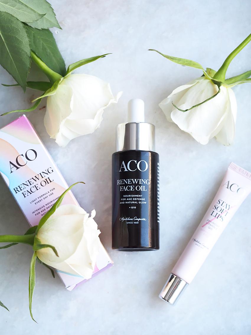Aco Renewing Face Oil ihonhoito blogi 4