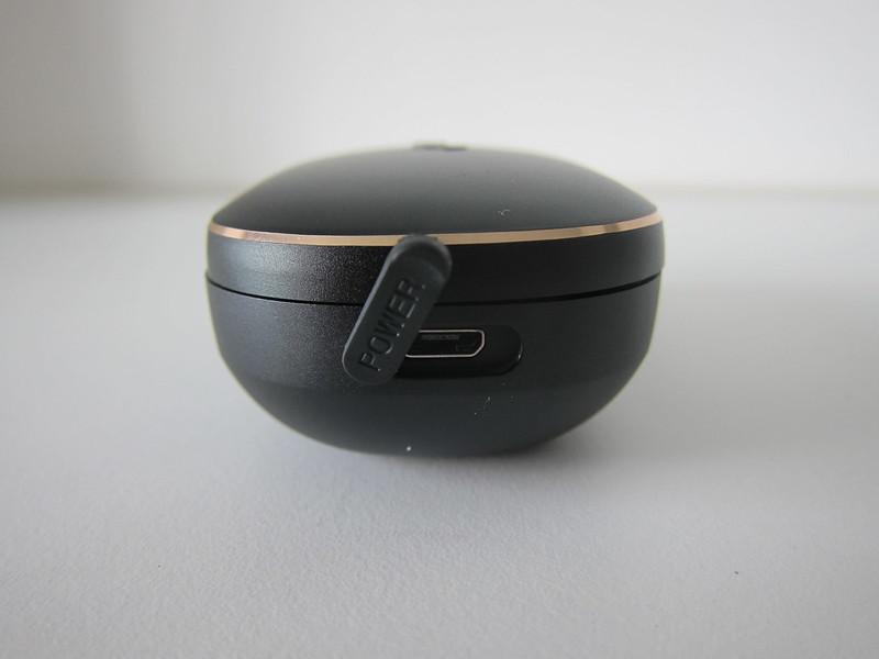Liberty+ Wireless Earphones - Charging Case - Side