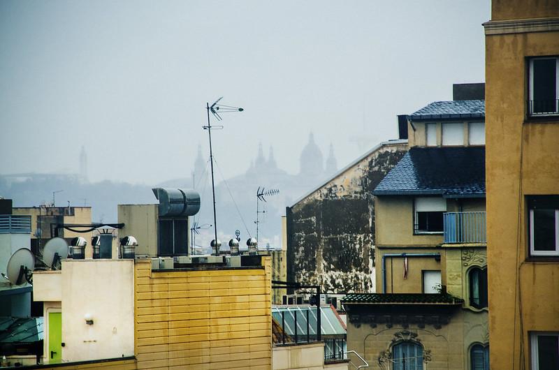 Барселона за 5 дней в феврале 2017 (Фигерас, Монсеррат), много фото