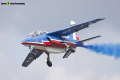 E95 8 F-TERQ - E95 - Patrouille de France - French Air Force - Dassault-Dornier Alpha Jet E - RIAT 2010 Fairford - Steven Gray - IMG_9613
