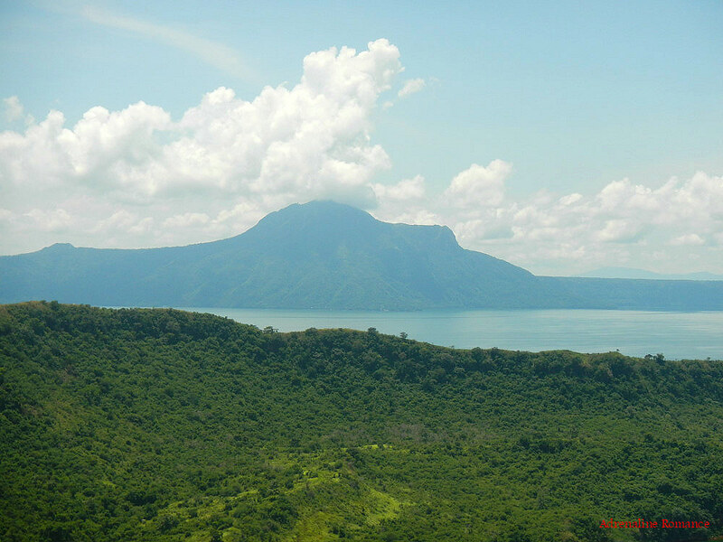 Mt. Maculot from Taal Volcano