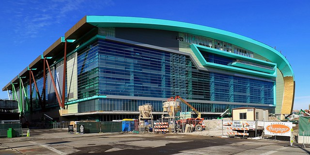 Moving Along: the new Bucks Arena