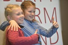 Die Schülerinnen Charlotte Bartusch und Frieda Rudolph