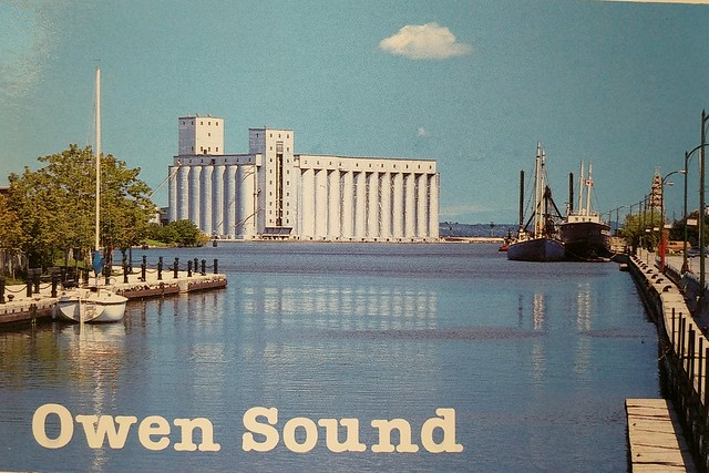Ontario - Owen Sound - Elevator - Wishlist travelling envelope