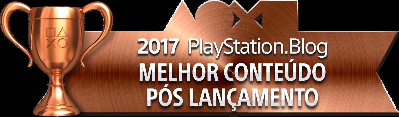 PlayStation Blog Game of the Year 2017 - Best Post-Release Content (Bronze)