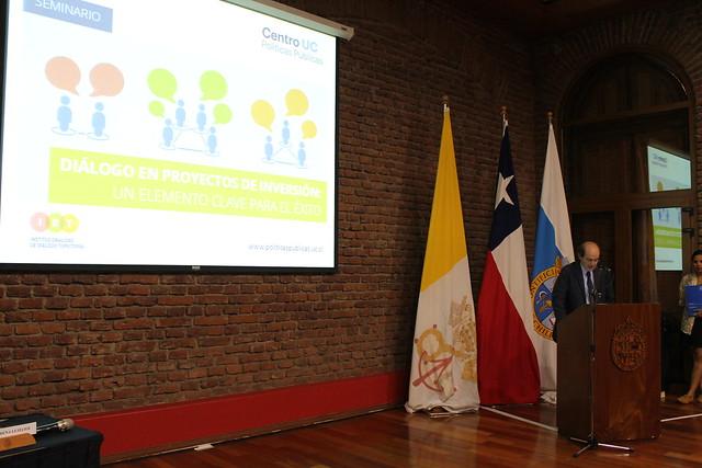 """Seminario """"Diálogo en proyectos de inversión: un elemento clave para el éxito"""""""