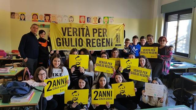 #2annisenzaGiulio - scuole