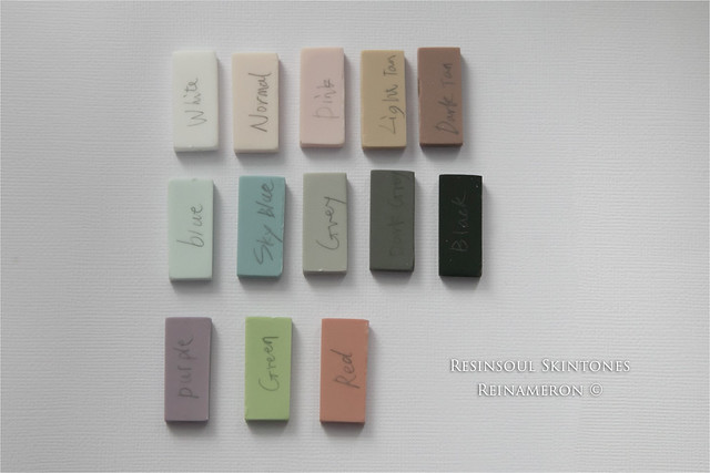Skintone comparison Resinsoul