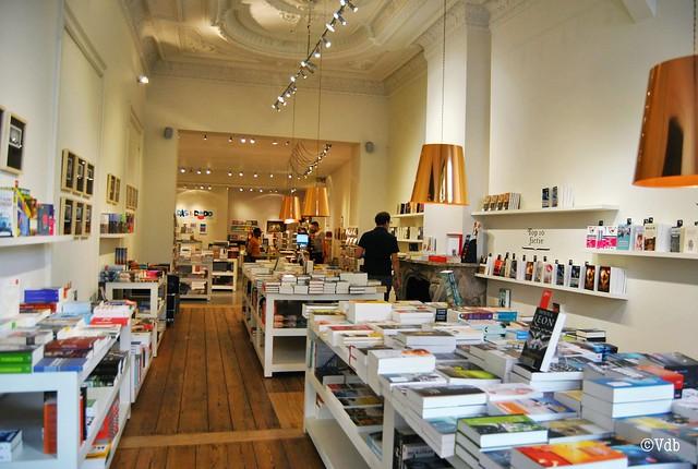 Antwerpen boekenwinkel 't Stad Leest