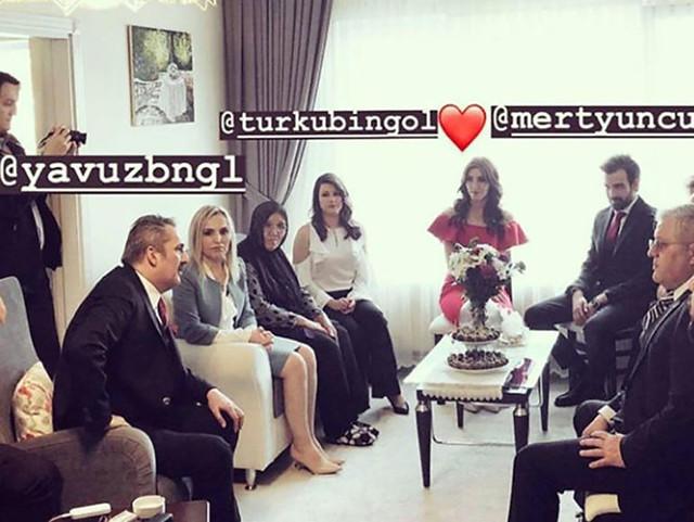 Yavuz Bingöl'ün kızı Türkü Bingöl nişanlandı-2