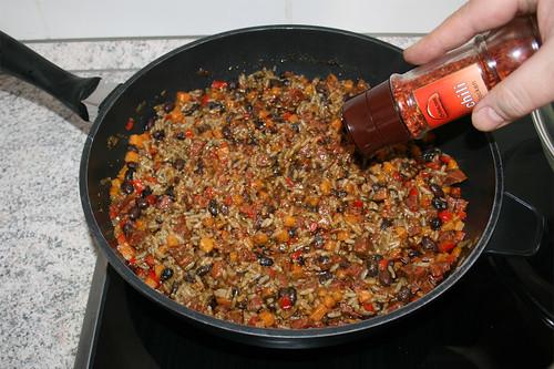 56 - Mit Salz, Pfeffer & Chiliflocken abschmecken / Taste with salt, pepper & chili flakes
