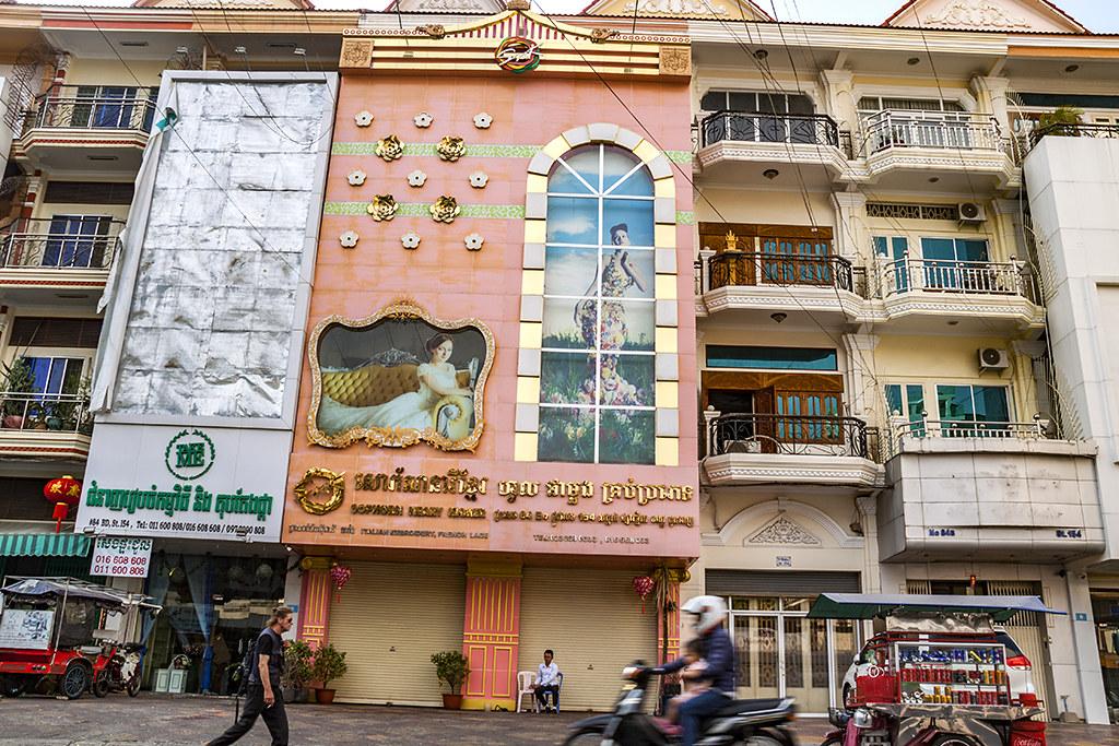 Khan Doun Penh street scene--Phnom Penh 2