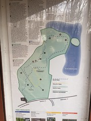 Trail map of Morgenthau Preserve, Pound Ridge NY
