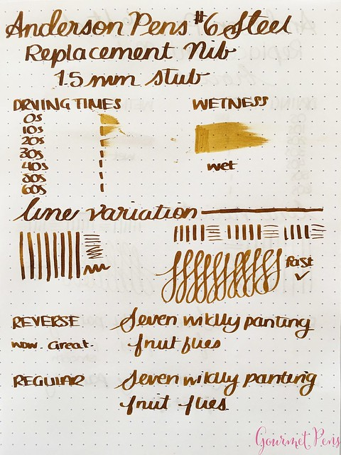 Review @AndersonPens Replacement #6 Stainless Steel Nibs for Fountain Pens 20