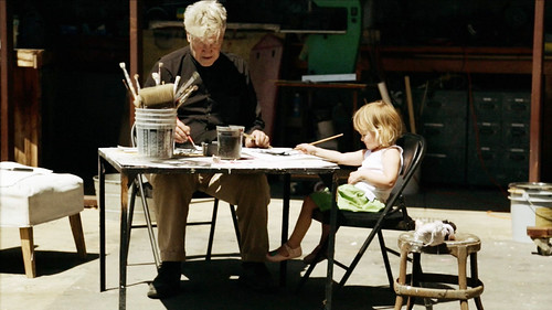 デヴィッド・リンチと娘