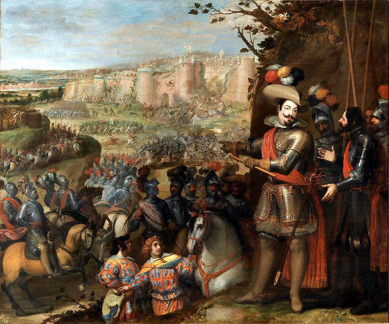 The capture of Rheinfelden by the troops of the Duke of Feria, 1633 by Vincenzo Carducci