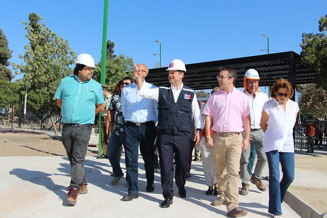 Visita Inspectiva Obras Parque Amengual