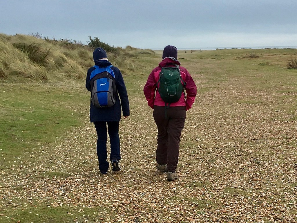 On Hayling Island Portsmouth to Hayling Island walk