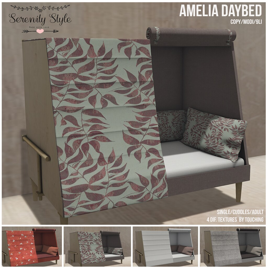 Serenity Style- Amelia Daybed - TeleportHub.com Live!
