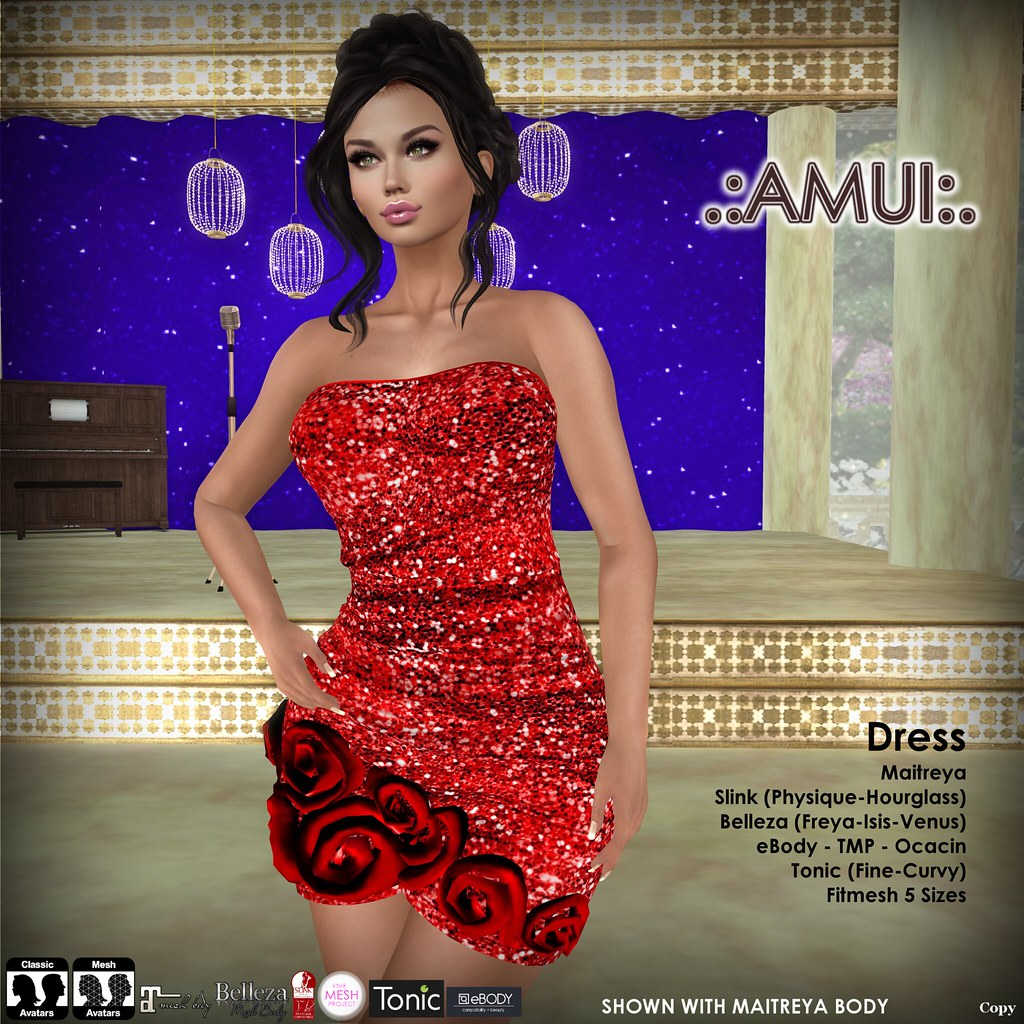 .:AMUI:. Women in Red - TeleportHub.com Live!