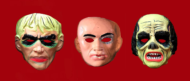 Lurch and Kung Fu and Phantom of Opera Masks 3172