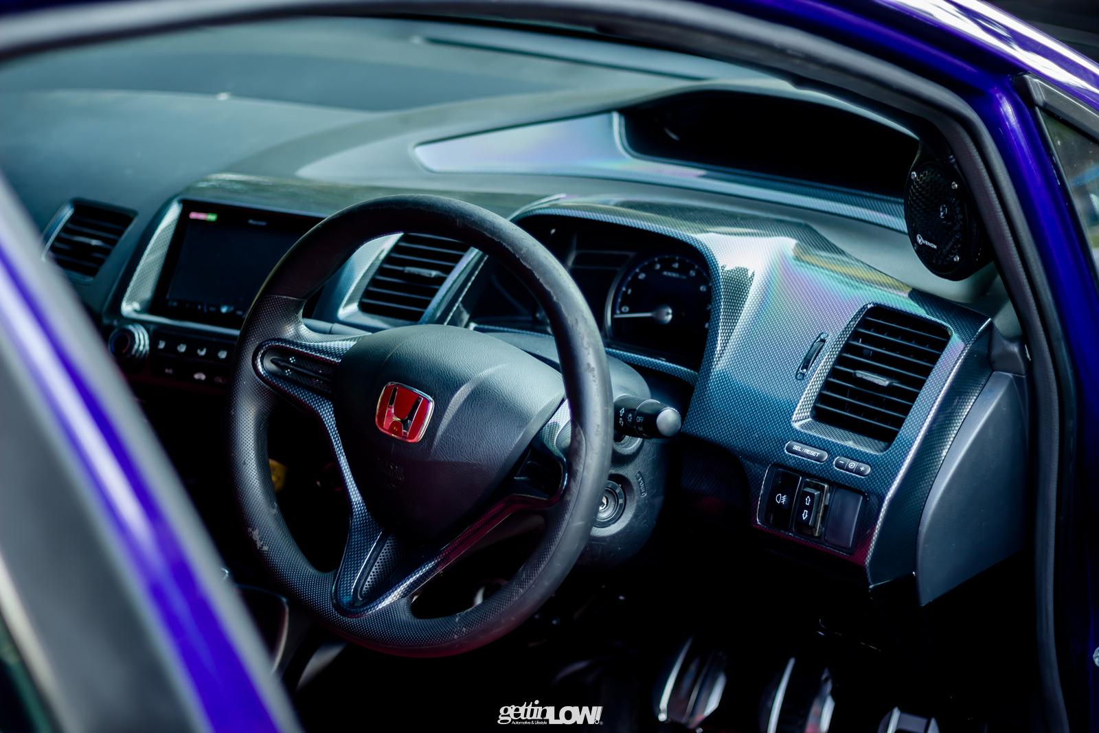 Honda Civic Biru Padang