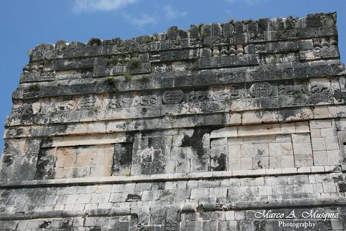 Kapelusze.  Chichen Itza. Yucatan, Mexico