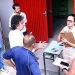 seg, 19/02/2018 - 07:41 - Visita técnica à Escola Municipal Professor Pedro Guerra, para Verificar a estrutura física e instalações do prédio, bem como as adequações para a educação infantil.Foto: Rafa Aguiar