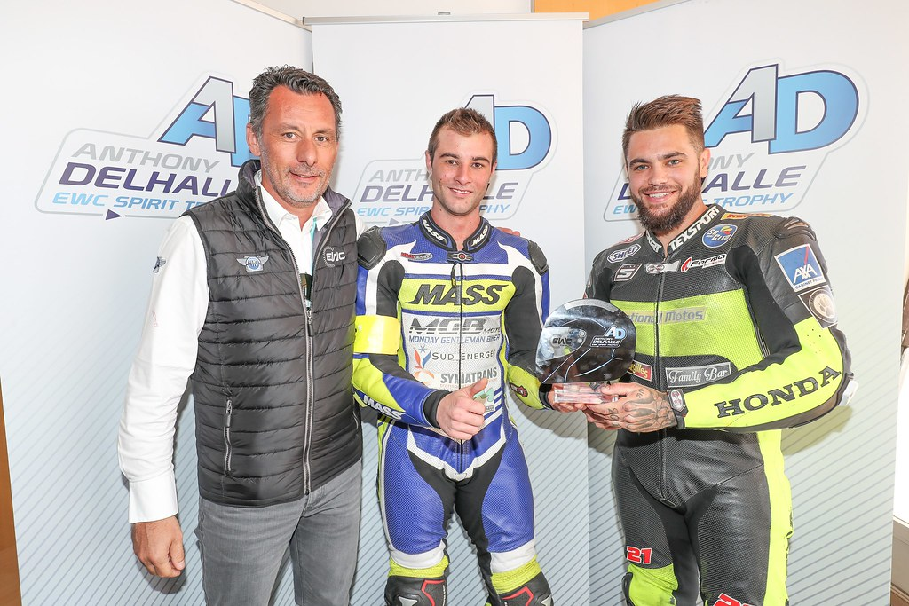 Ewc , Days , Bol , D or , 2017 , Trophy Anthony Delhalle