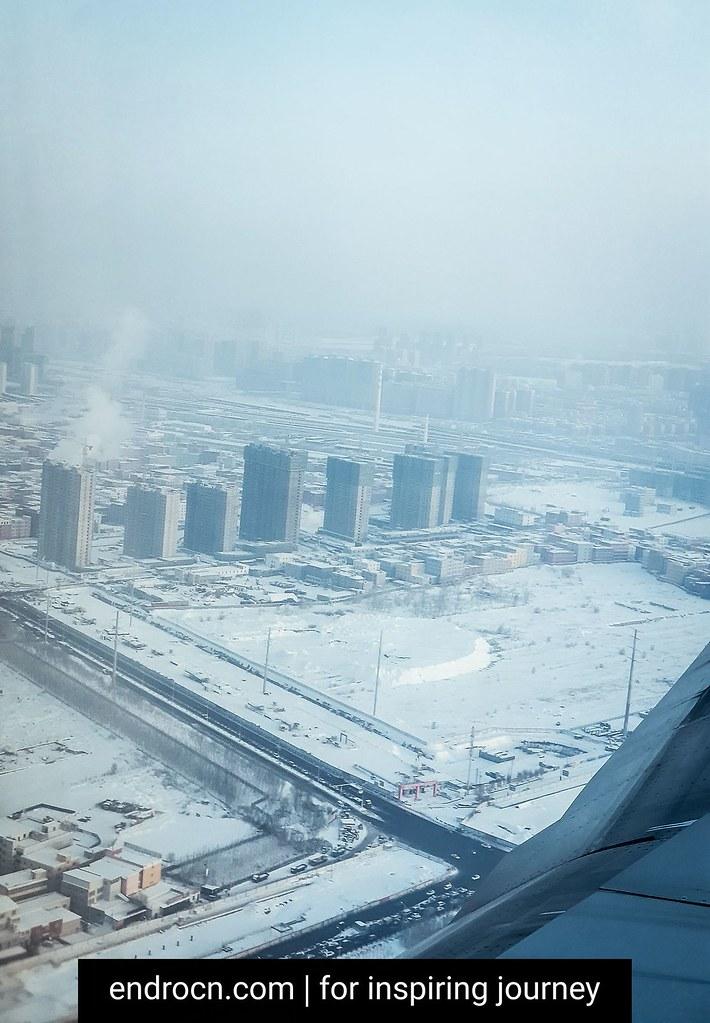 Winter wonderland at Urumqi