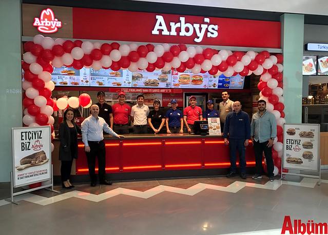 Arby's Antalya Agora AVM'de